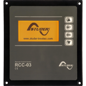RCC-03 Remote Control and Programming Centre for Xtender Series