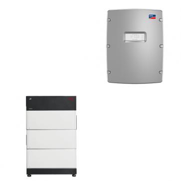 BYD Battery-Box Premium LVS 12.0 & SMA Sunny Island 4.4M solar battery inverter Storage Package