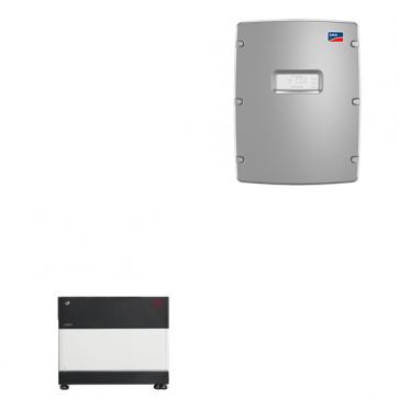 BYD Battery-Box Premium LVS 4.0 & SMA Sunny Island 4.4M solar battery inverter Storage Package