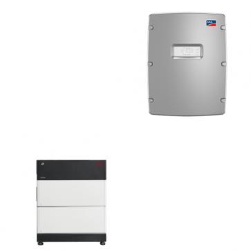BYD Battery-Box Premium LVS 8.0 & SMA Sunny Island 4.4M solar battery inverter Storage Package