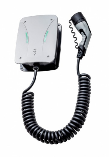 Hardy Barth wallbox - CPµ1 µT13.8 Type 2 with charge cable (spiral cord-4M)