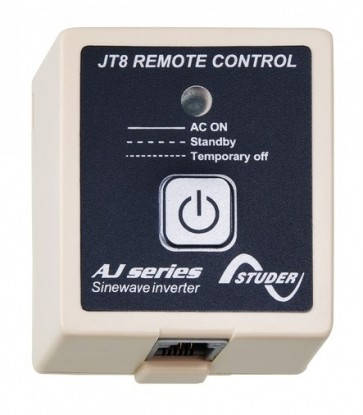 Studer remote control box JT 8 for AJ 1000-12 to 2400-24