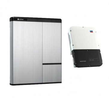 LG Chem RESU 10H & SMA Sunny Boy Storage 3.7 Storage Package