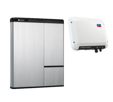 LG Chem RESU 7H & SMA Sunny Boy Storage 2.5 Storage Package