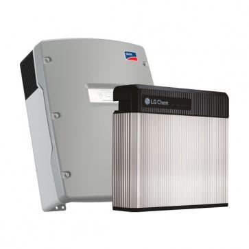 LG Chem RESU 3.3 & SMA Sunny Island 4.4M-12 Storage Package