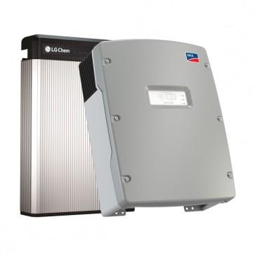 LG Chem RESU 6.5 & SMA Sunny Island 4.4M-12 Storage Package