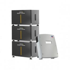 BMZ ESS 21.0 & SMA Sunny Island 4.4M-12 Storage Package