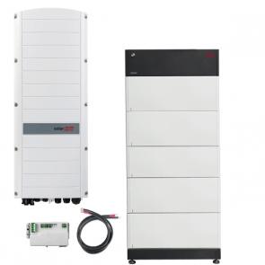 BYD Battery-Box Premium LVS 20.0 & SolarEdge SE5K-RWS Hybrid Inverter Storage Package