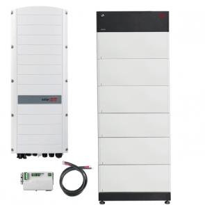 BYD Battery-Box Premium LVS 24.0 & SolarEdge SE5K-RWS Hybrid Inverter Storage Package