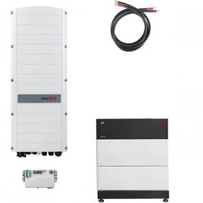 BYD Battery-Box Premium LVS 8.0 & SolarEdge SE5K-RWS Hybrid Inverter Storage Package