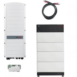 BYD Battery-Box Premium LVS 16.0 & SolarEdge SE5K-RWS Hybrid Inverter Storage Package