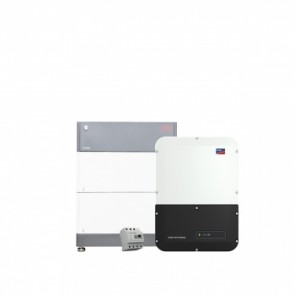 BYD Battery-Box Premium HVS 5.1 & SMA Sunny Boy Storage Package