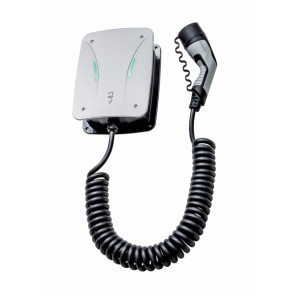 Hardy Barth wallbox - CPµ1 µT11 Type 2 with charge cable (spiral cord-4M)