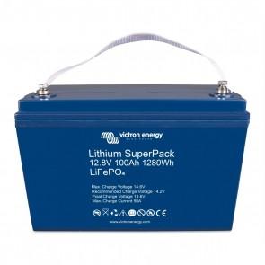 Victron Lithium SuperPack 12,8V/100Ah (M8) High Current