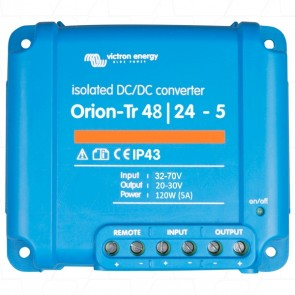 Victron Orion-Tr 48/24-5A (120W) Isolated DC-DC converter